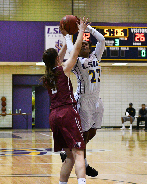21st LSUS Women's Basketball vs Lyon College Photo