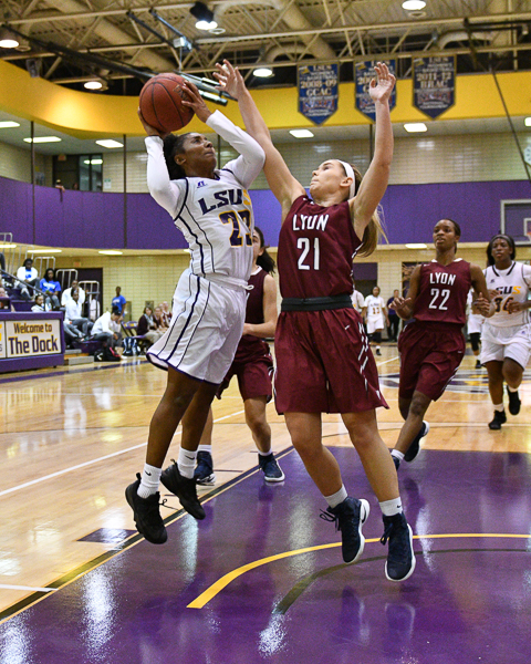 22nd LSUS Women's Basketball vs Lyon College Photo