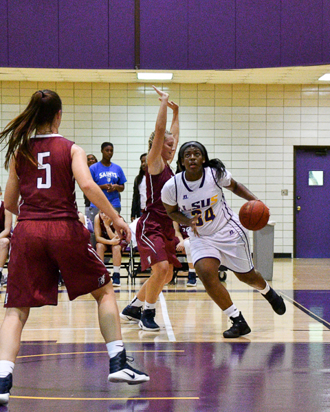 29th LSUS Women's Basketball vs Lyon College Photo