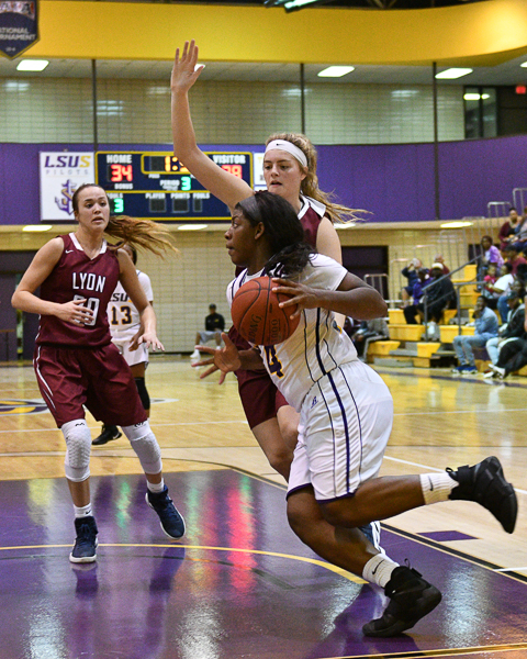 31st LSUS Women's Basketball vs Lyon College Photo