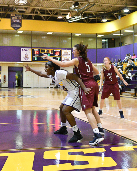 32nd LSUS Women's Basketball vs Lyon College Photo