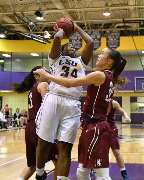 34th LSUS Women's Basketball vs Lyon College Photo