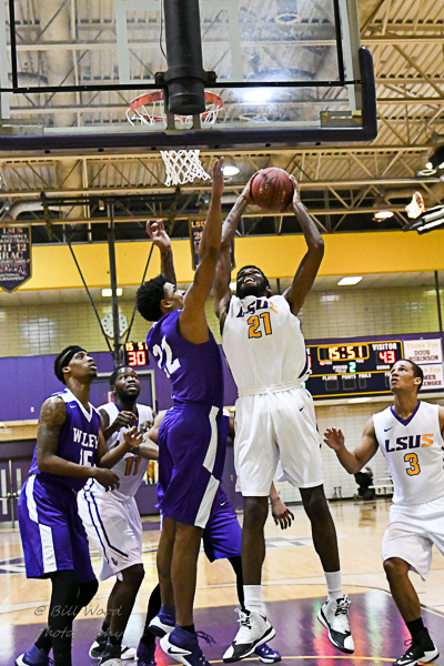 2nd LSUS Men's Basketball vs Wiley College Photo