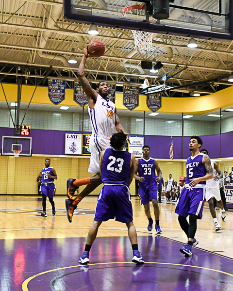 3rd LSUS Men's Basketball vs Wiley College Photo