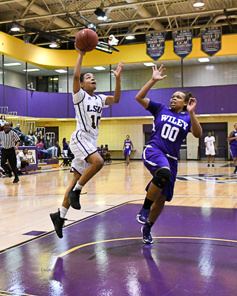 2nd LSUS Women's Basketball vs Wiley College Photo