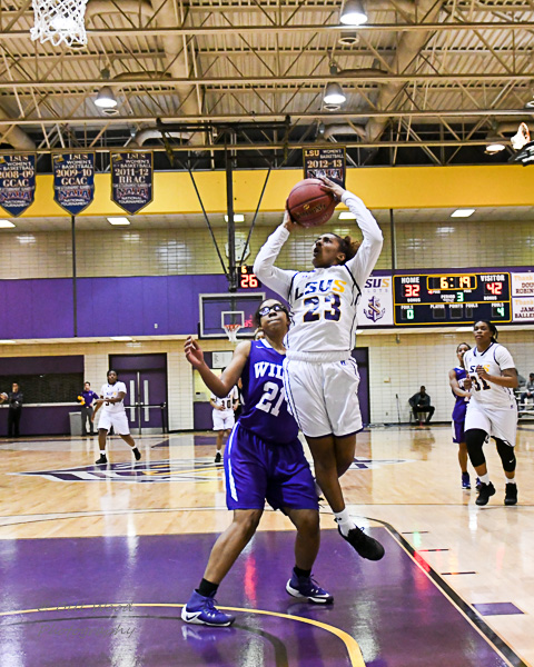 9th LSUS Women's Basketball vs Wiley College Photo