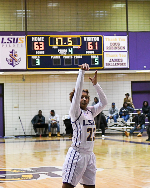 13th LSUS Women's Basketball vs Wiley College Photo