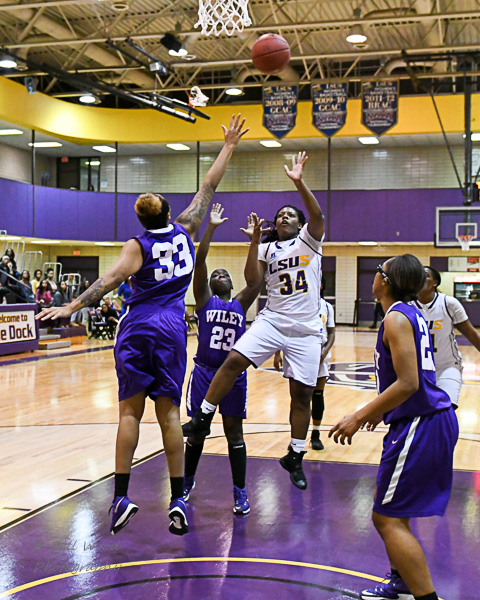 17th LSUS Women's Basketball vs Wiley College Photo