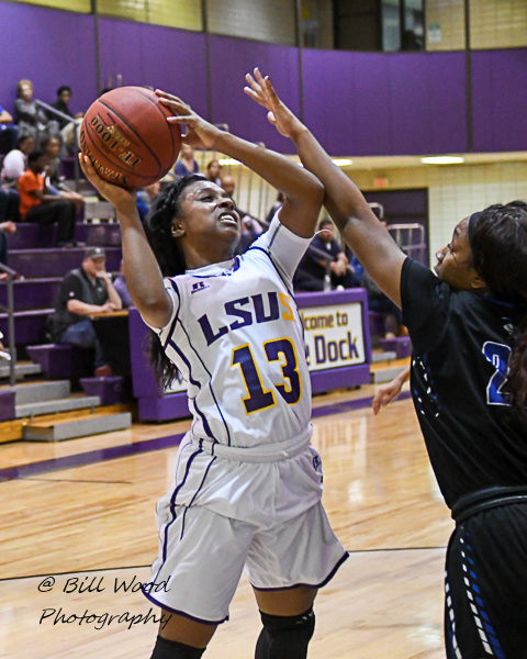 7th LSUS Women's Basketball vs Our Lady of the Lake U. Photo