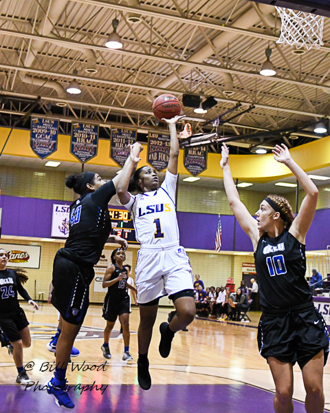 10th LSUS Women's Basketball vs Our Lady of the Lake U. Photo