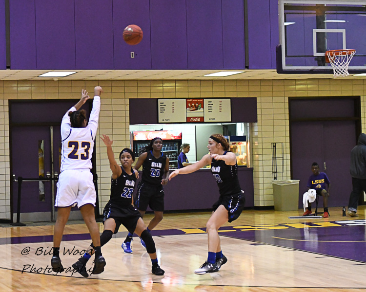 18th LSUS Women's Basketball vs Our Lady of the Lake U. Photo