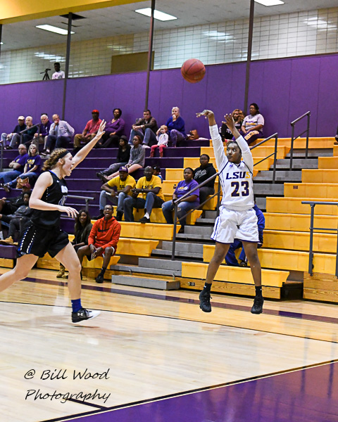 21st LSUS Women's Basketball vs Our Lady of the Lake U. Photo