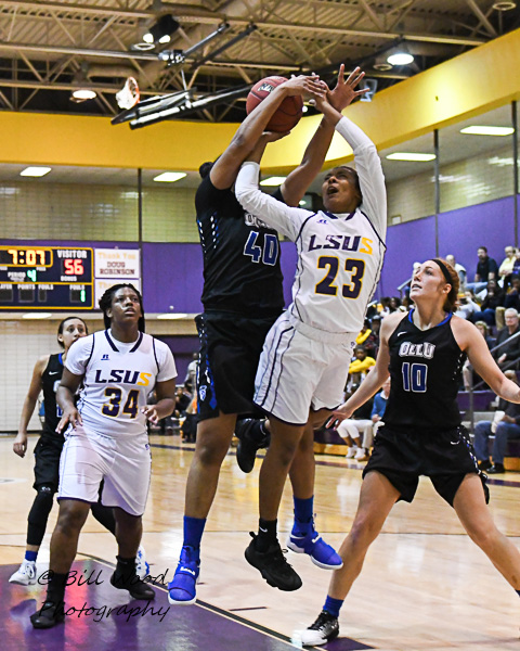 23rd LSUS Women's Basketball vs Our Lady of the Lake U. Photo