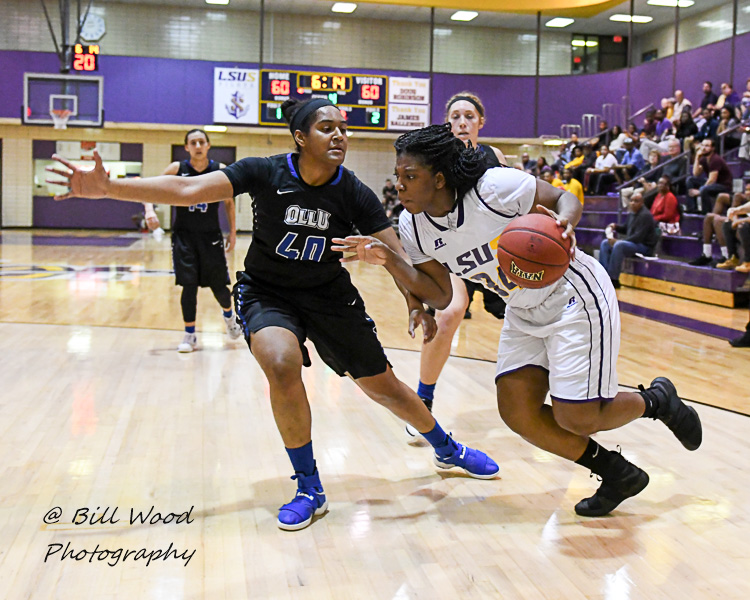 32nd LSUS Women's Basketball vs Our Lady of the Lake U. Photo