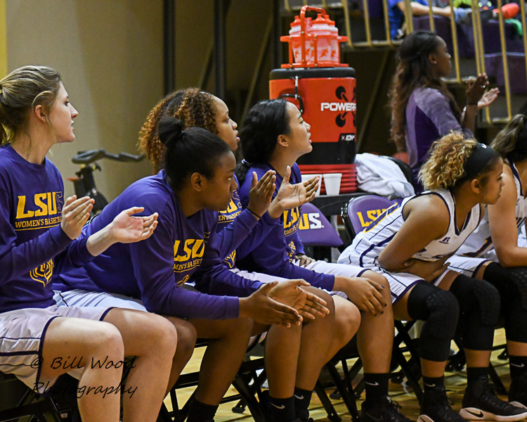38th LSUS Women's Basketball vs Our Lady of the Lake U. Photo