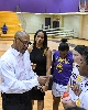 48th LSUS Women's Basketball vs Our Lady of the Lake U. Photo