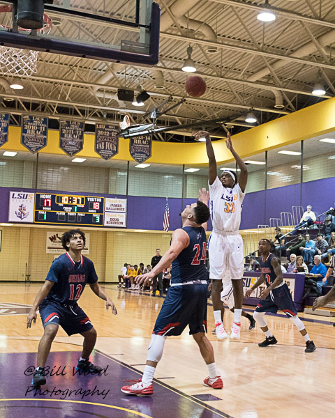 11th LSUS Men's Basketball vs University of the Southwest Photo