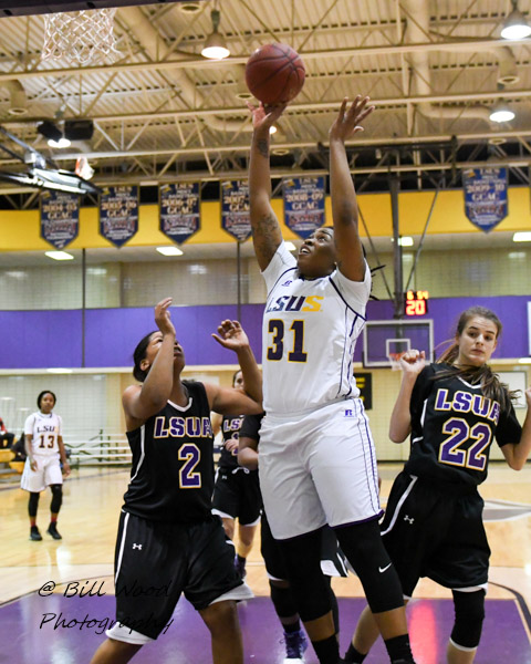 23rd LSUS Women's Basketball vs LSUA Photo