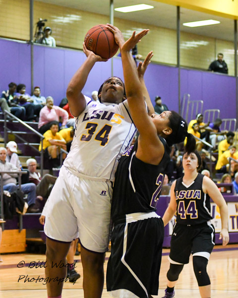 28th LSUS Women's Basketball vs LSUA Photo