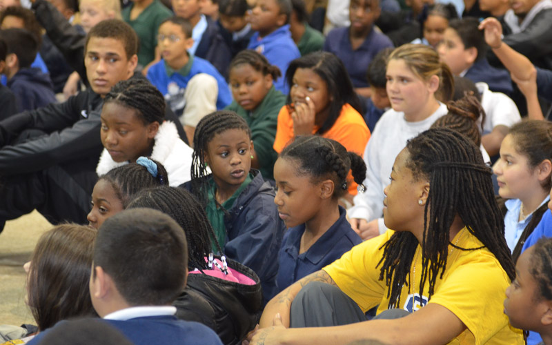 2nd Meadowview Elementary School Visit Photo
