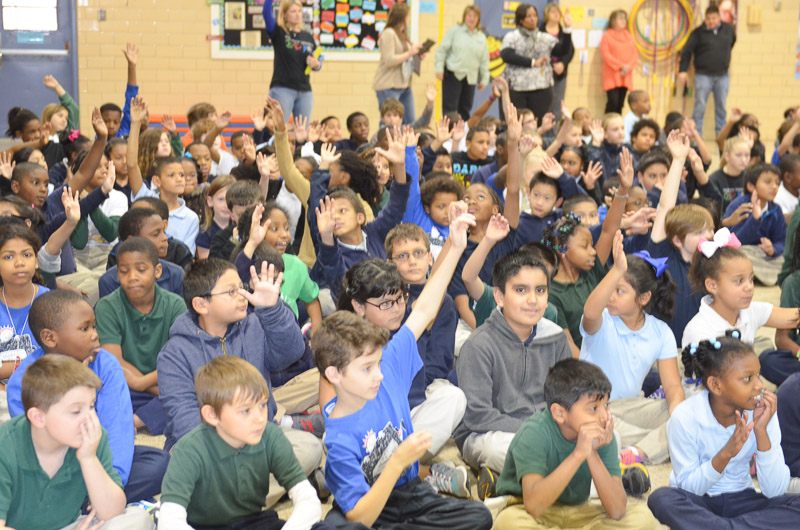 14th Meadowview Elementary School Visit Photo