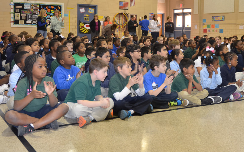 15th Meadowview Elementary School Visit Photo
