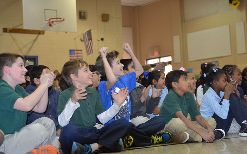 16th Meadowview Elementary School Visit Photo