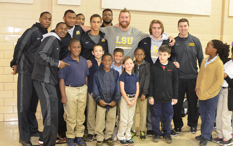 18th Meadowview Elementary School Visit Photo