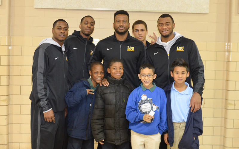 19th Meadowview Elementary School Visit Photo