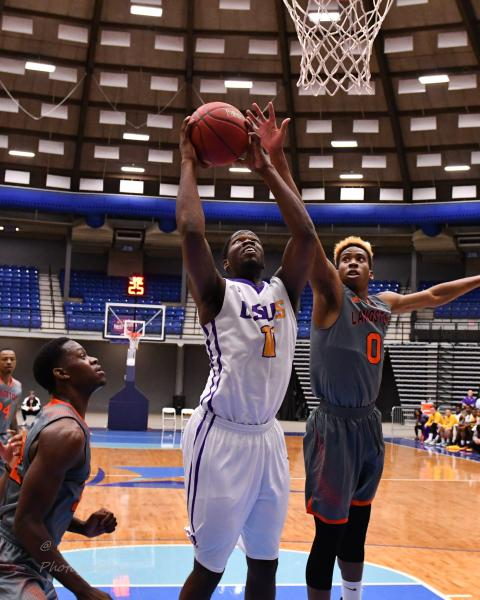 1st LSUS Men's Basketball vs Langston  - RRAC Tourney Photo