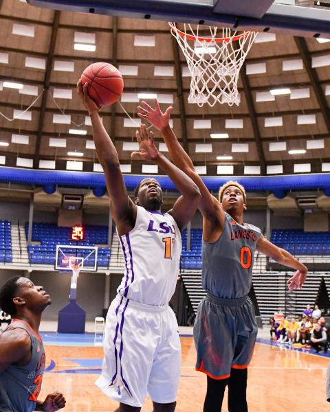 2nd LSUS Men's Basketball vs Langston  - RRAC Tourney Photo