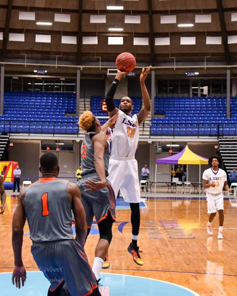 3rd LSUS Men's Basketball vs Langston  - RRAC Tourney Photo
