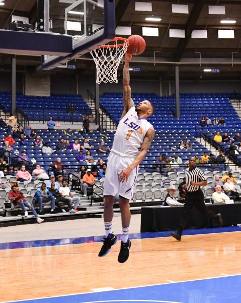 4th LSUS Men's Basketball vs Langston  - RRAC Tourney Photo