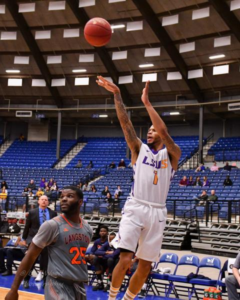 5th LSUS Men's Basketball vs Langston  - RRAC Tourney Photo