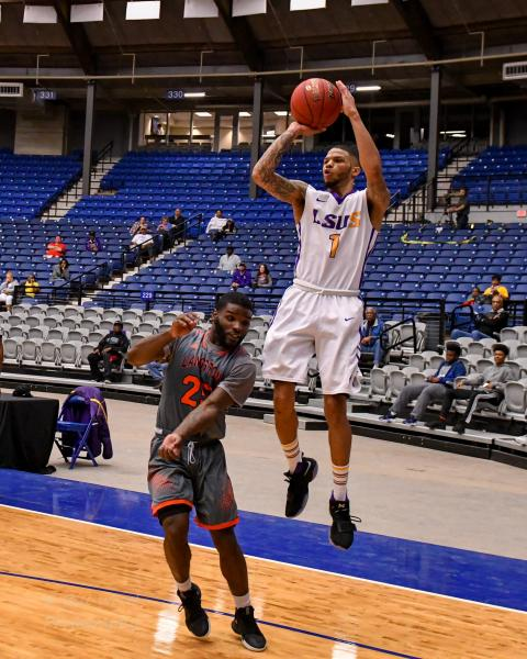 6th LSUS Men's Basketball vs Langston  - RRAC Tourney Photo
