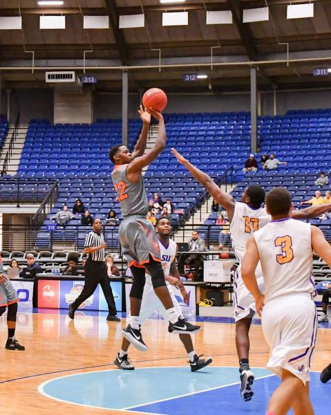 7th LSUS Men's Basketball vs Langston  - RRAC Tourney Photo