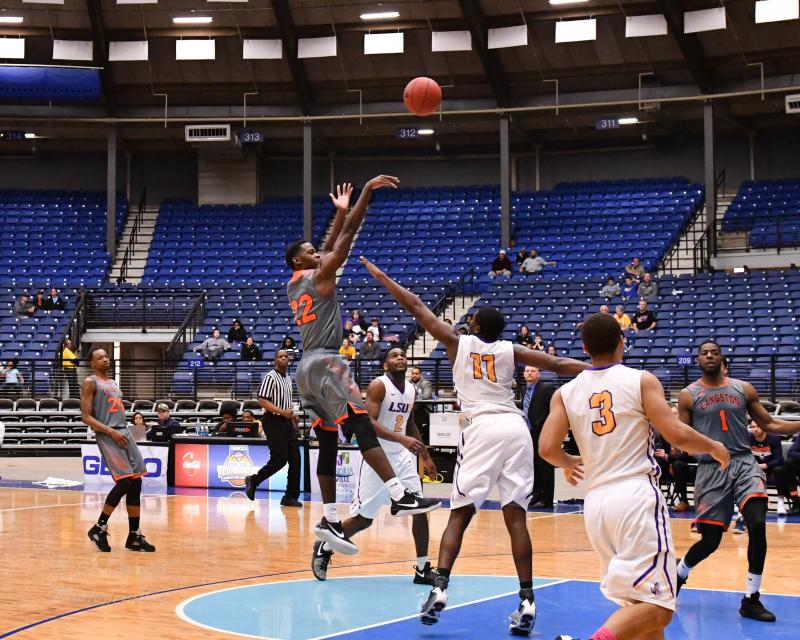 8th LSUS Men's Basketball vs Langston  - RRAC Tourney Photo