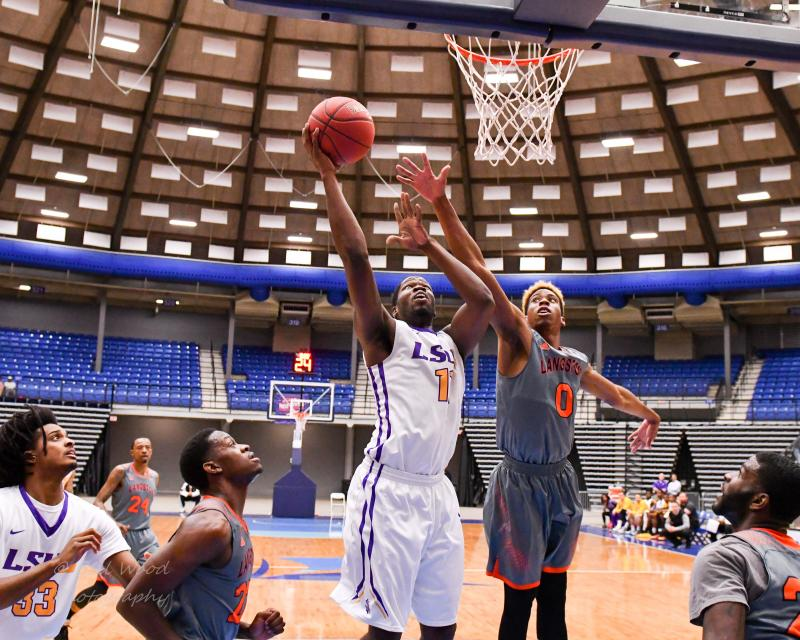 9th LSUS Men's Basketball vs Langston  - RRAC Tourney Photo