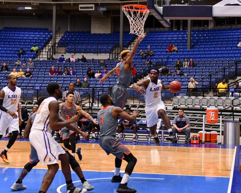 10th LSUS Men's Basketball vs Langston  - RRAC Tourney Photo