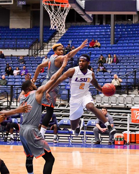 11th LSUS Men's Basketball vs Langston  - RRAC Tourney Photo