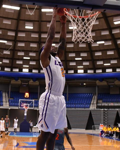 12th LSUS Men's Basketball vs Langston  - RRAC Tourney Photo