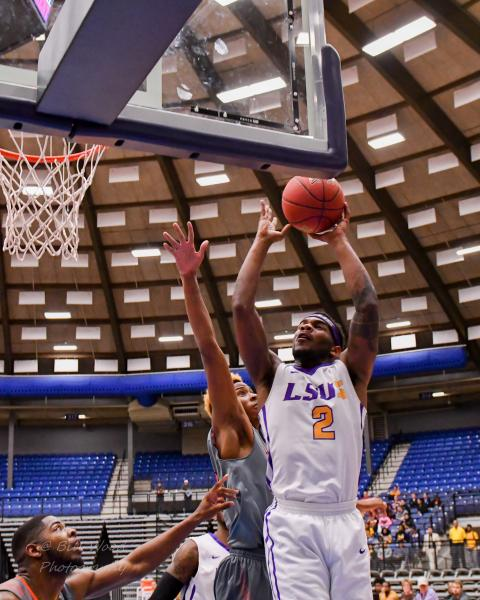 13th LSUS Men's Basketball vs Langston  - RRAC Tourney Photo