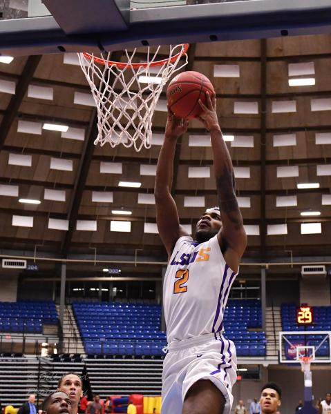 14th LSUS Men's Basketball vs Langston  - RRAC Tourney Photo