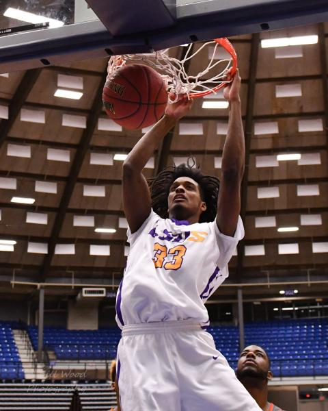 16th LSUS Men's Basketball vs Langston  - RRAC Tourney Photo