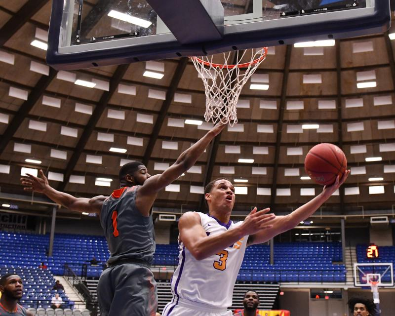 17th LSUS Men's Basketball vs Langston  - RRAC Tourney Photo