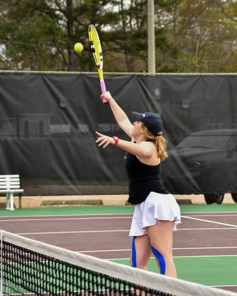 2nd LSUS Women's Tennis vs Centenary College Photo
