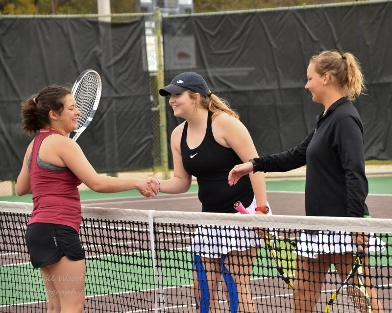 15th LSUS Women's Tennis vs Centenary College Photo