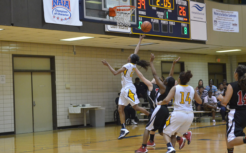 2nd LSUS Lady Pilots vs. Bacone Photo