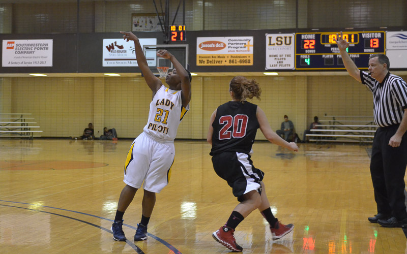 12th LSUS Lady Pilots vs. Bacone Photo