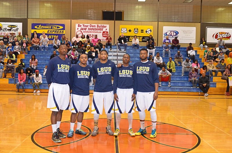 26th Lady Pilots and Pilots Basketball Senior Night Photo